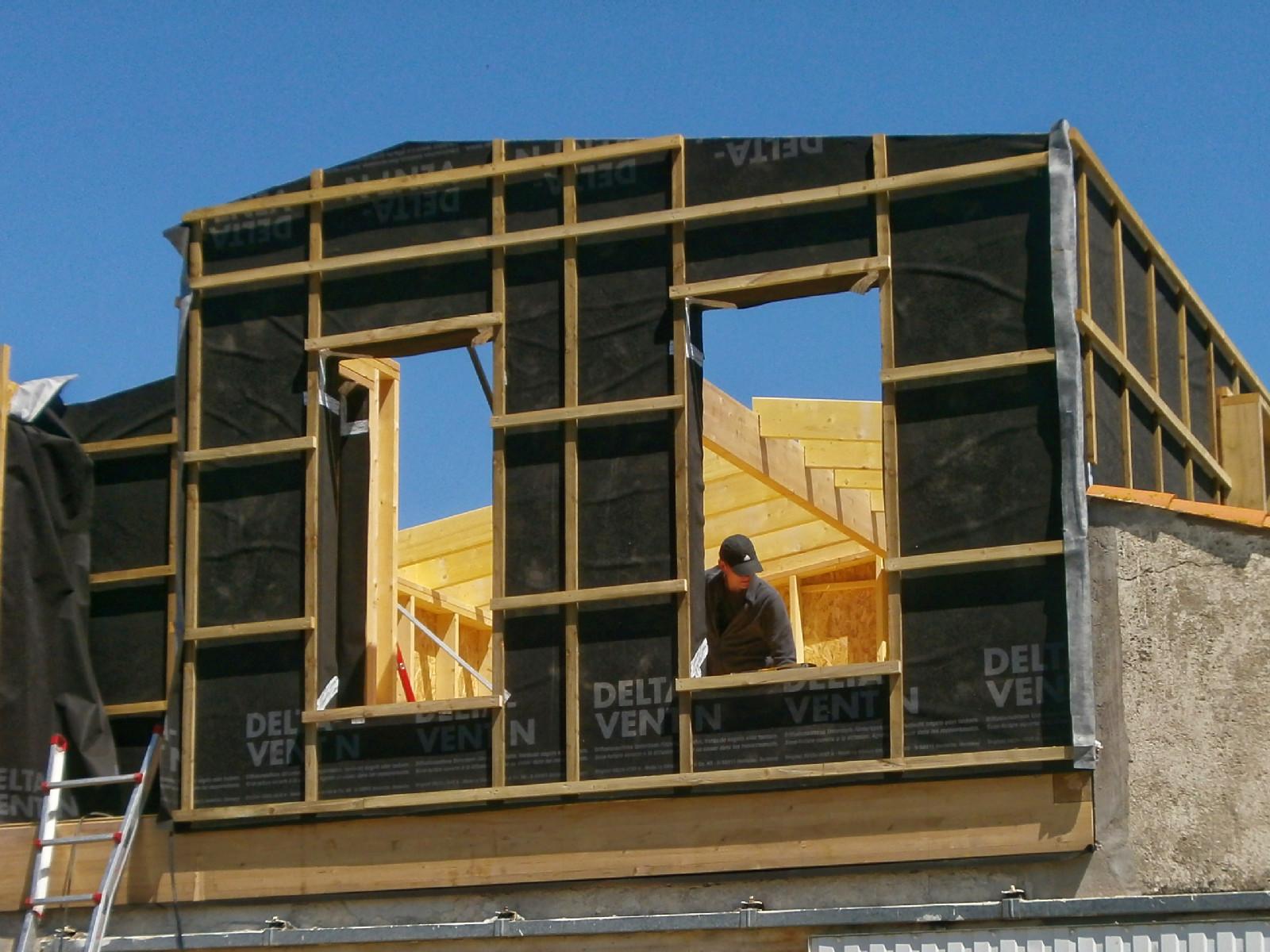 Construction d'une maison ossature bois ou d'une extension : SAMA Charente-Maritime